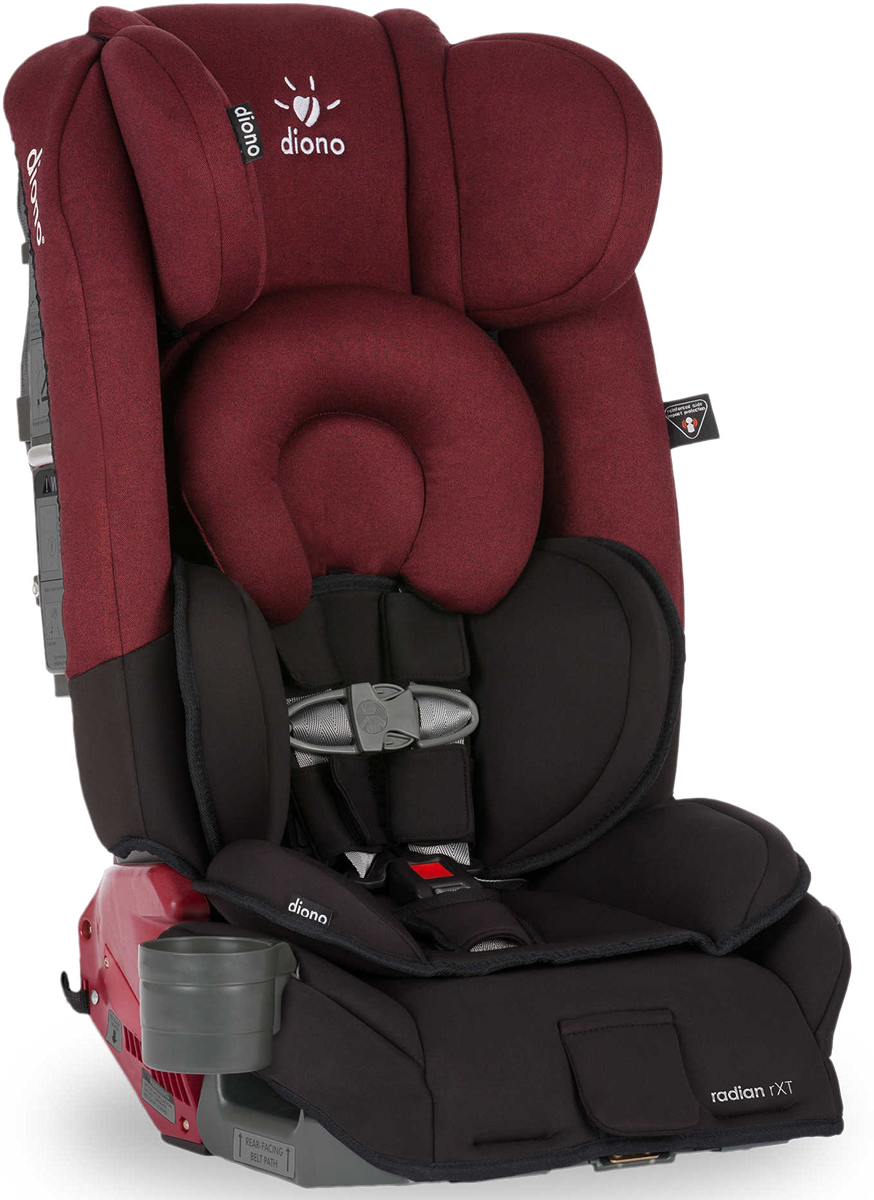 Diono Radian RXT Convertible + Booster Car Seat - Black S...