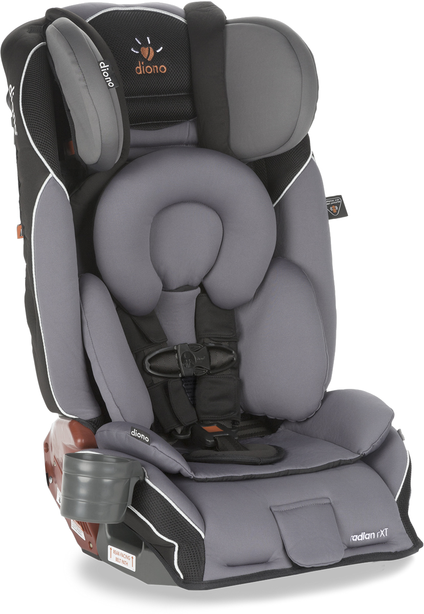 Diono Radian RXT Convertible + Booster Car Seat - Graphite