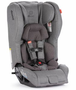 Diono Rainier 2 AXT All-in-One Convertible Car Seat + Booster - Dark Grey Wool