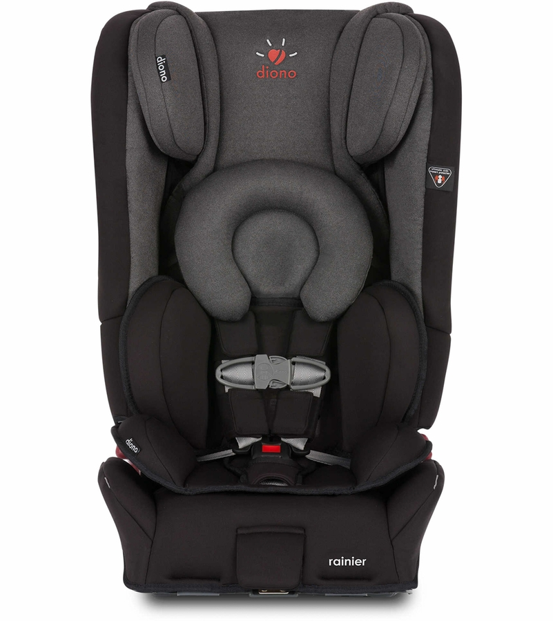 Diono Rainier All In One Convertible Car Seat Black Mist