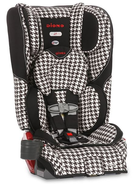 Diono Rainier All-In-One Convertible Car Seat - White Houndstooth