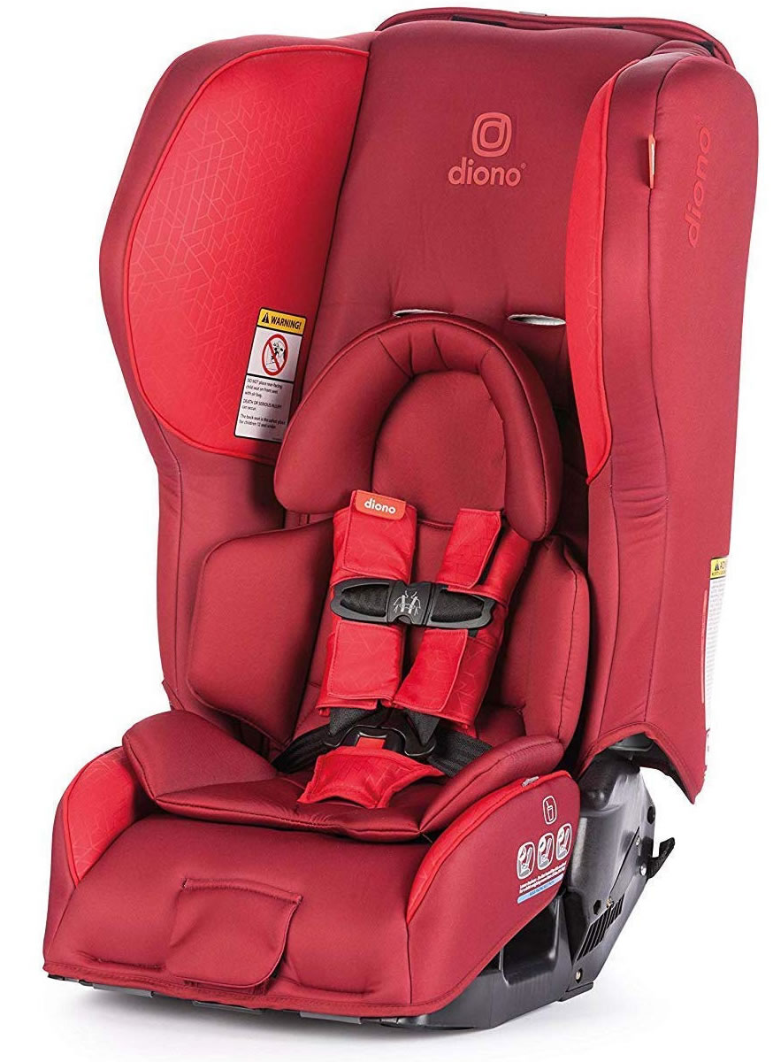 Diono Ranier 2 AX Convertible + Booster Car Seat - Red