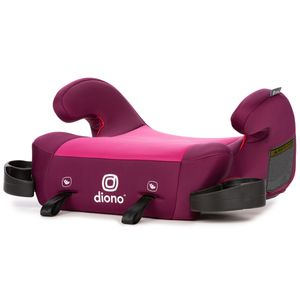 Diono Solana 2 Backless Belt Positioning Booster Car Seat - Pink