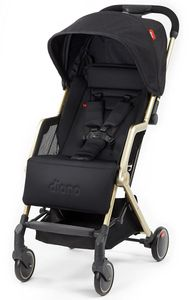 Diono Traverze Luxe Compact Stroller, Platinum Edition - Black Gold