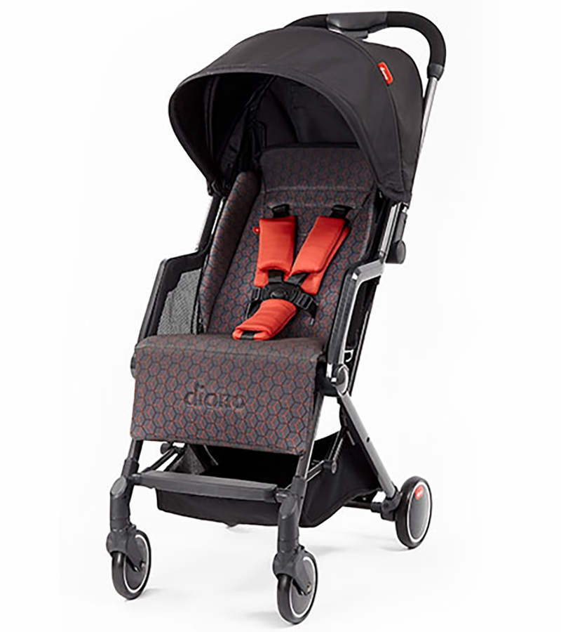 Diono Traverze Gold Edition Compact Stroller Charcoal