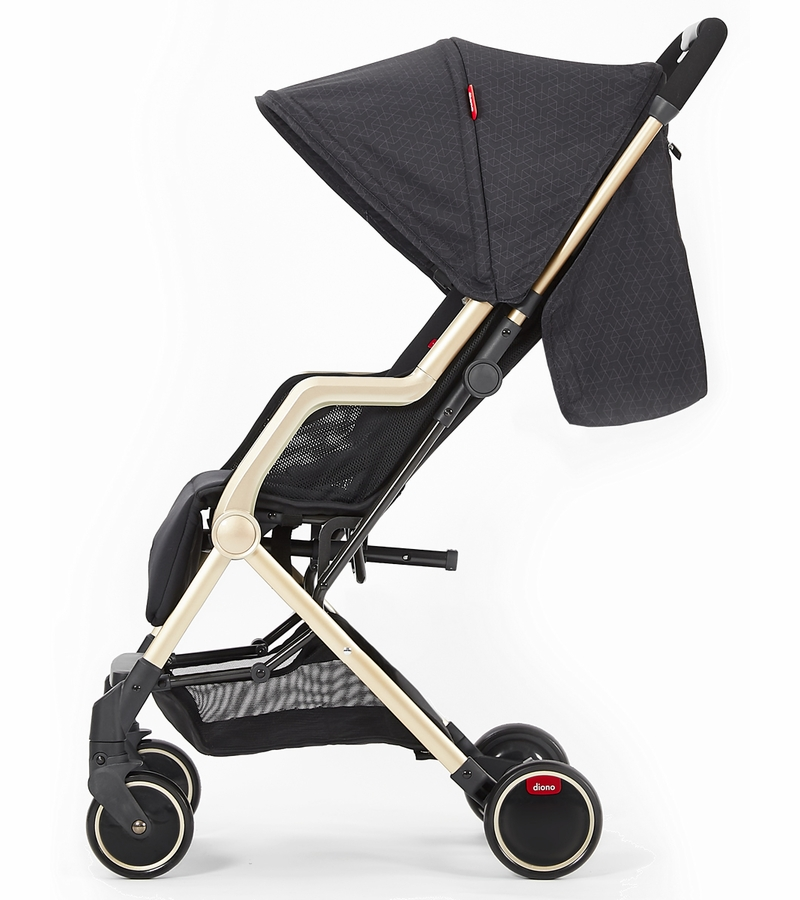 Diono Traverze Luxe Compact Stroller Platinum Edition