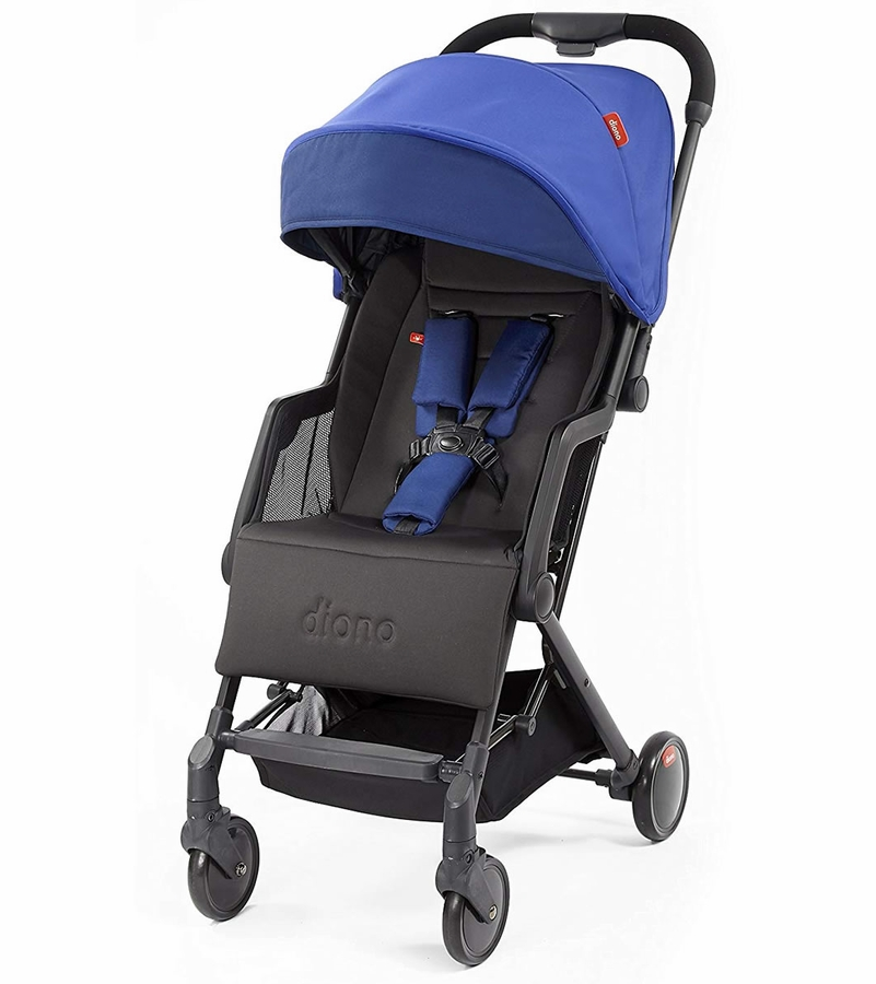 Diono Traverze Silver Edition Compact Stroller Blue