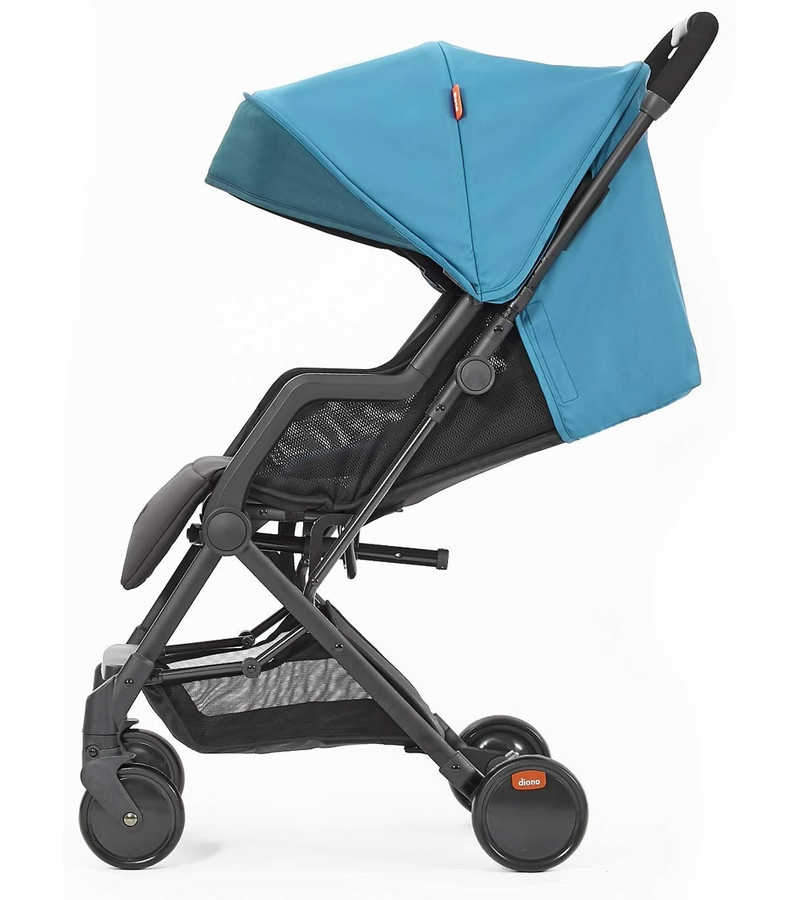 Diono Traverze Silver Edition Compact Stroller Teal