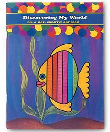 Do A Dot Art Creative Activity Book - Discover My World
