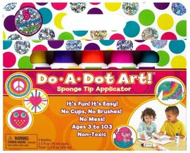 Do A Dot Art Markers, 5-Pack - Tutti Frutti Shimmer
