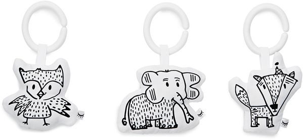DockATot Toy Set - Cheeky Chums (Elephant/Fox/Owl)