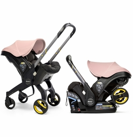 Doona+ Infant Car Seat & Stroller - Blush Pink