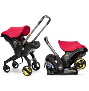 Doona+ Infant Car Seat & Stroller - Flame Red