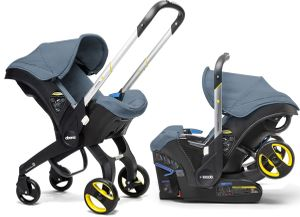 Doona Infant Car Seat & Stroller - Marine (Navy)