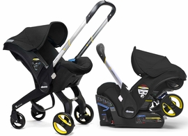 Doona Infant Car Seat & Stroller - Night (Black)