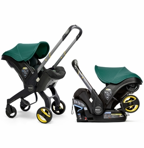 Doona+ Infant Car Seat & Stroller - Racing Green