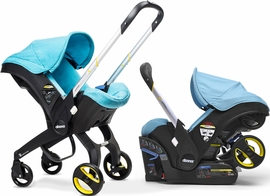 Doona Infant Car Seat & Stroller - Sky (Turquoise)