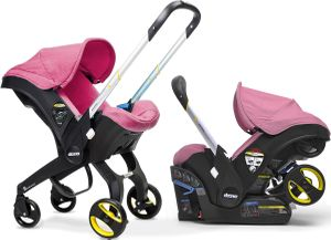 Doona Infant Car Seat & Stroller - Sweet (Pink)