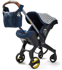 Doona Infant Car Seat & Stroller - Vacation (Limited Edition)