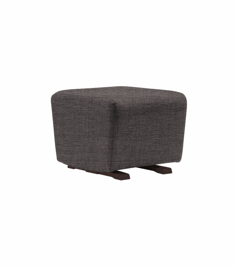 Cool Dutailier Upholstered Ottoman Gmtry Best Dining Table And Chair Ideas Images Gmtryco