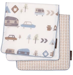 DwellStudio Canyon Burp Cloth Set