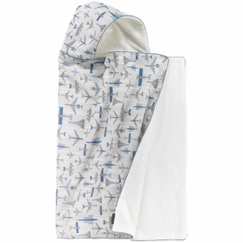 DwellStudio Flight Hooded Towel
