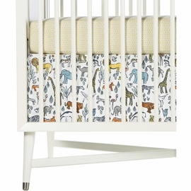 DwellStudio Safari Percale Crib Skirt