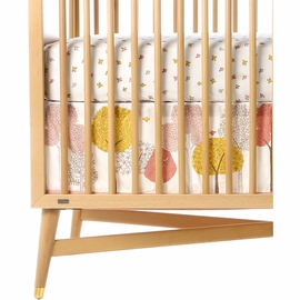 DwellStudio Treetops Canvas Crib Skirt