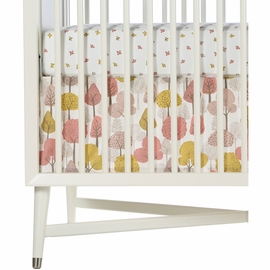 DwellStudio Treetops Percale Crib Skirt