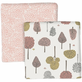 DwellStudio Treetops Swaddle Blankets - Set of 2