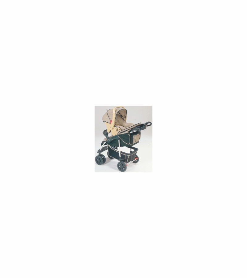 Eddie Bauer All Terrain Stroller With Infant Car Seat Without Base