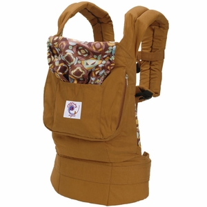 ergo baby carrier chocolate brown