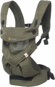 Ergobaby 360 Four Position Baby Carrier - Cool Air - Khaki Green