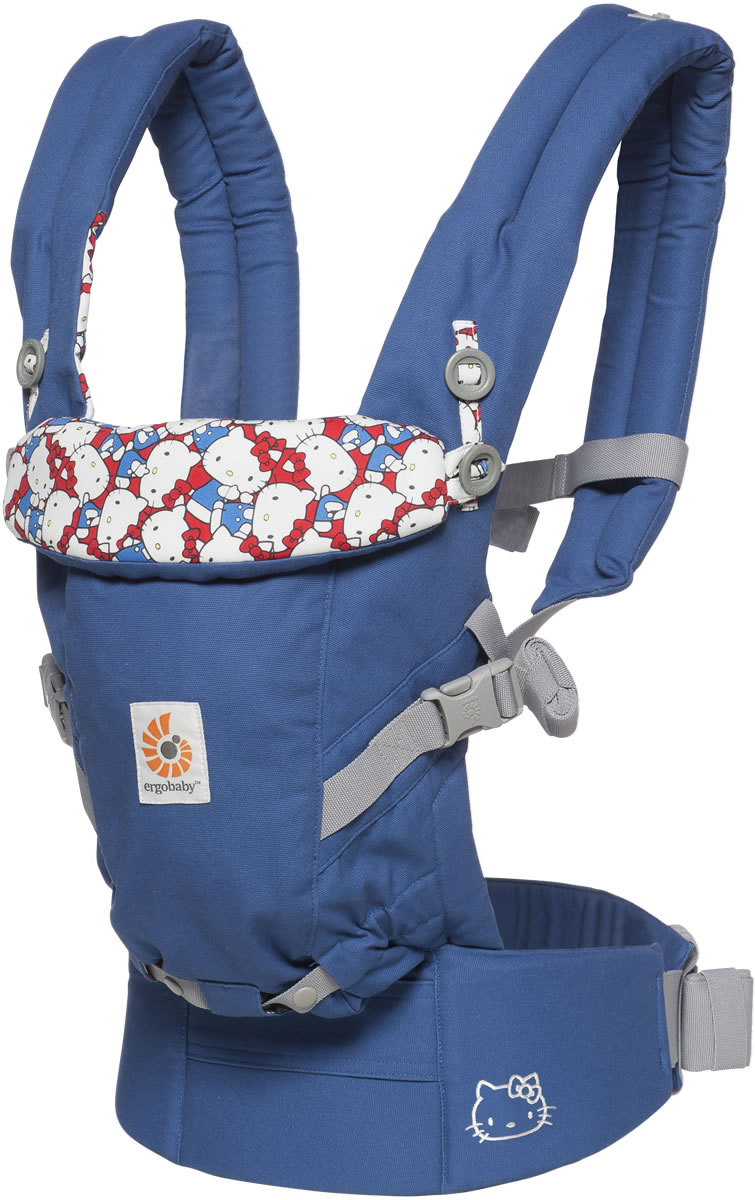 0bd94813f Ergobaby Adapt Baby Carrier - Hello Kitty Limited Edition - Classic Kitty
