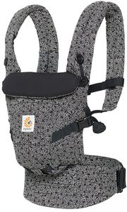 Ergobaby Adapt Baby Carrier, Special Edition Keith Haring - Black