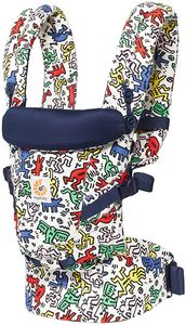 Ergobaby Adapt Baby Carrier, Special Edition Keith Haring - Pop