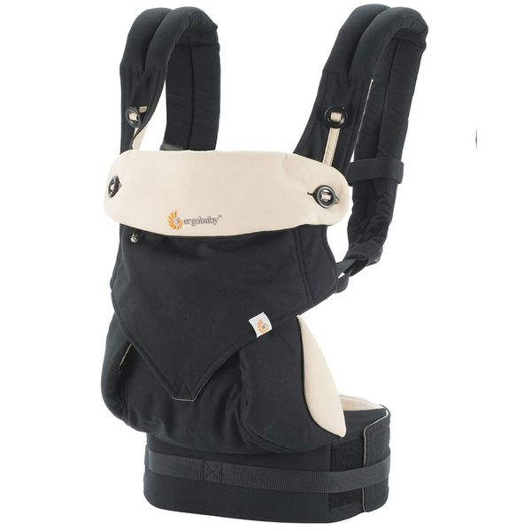 Ergobaby 360 Four Position Baby Carrier -  Black/Camel