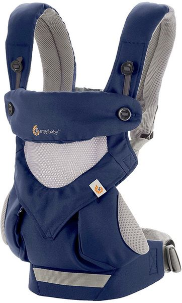 Ergobaby 360 Four Position Baby Carrier - French Blue