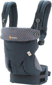 Ergobaby 360 Four Position Baby Carrier - Dusty Blue
