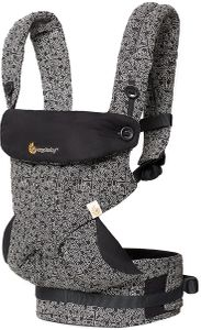 Ergobaby 360 Four Position Baby Carrier - Special Edition Keith Haring - Black