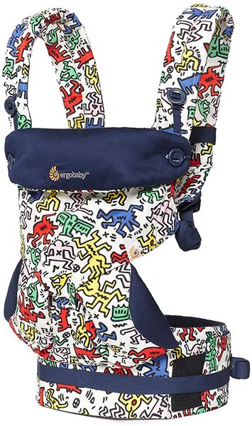 Ergobaby 360 Four Position Baby Carrier - Special Edition Keith Haring - Pop