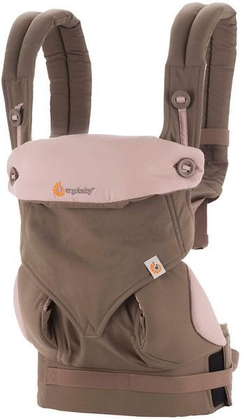 Ergobaby 360 Four Position Baby Carrier -  Taupe/Lilac
