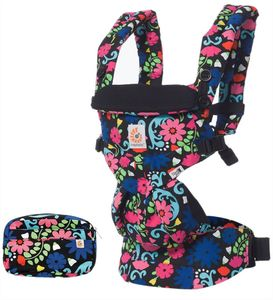 Ergobaby Omni 360 Baby Carrier - French Bull Flores