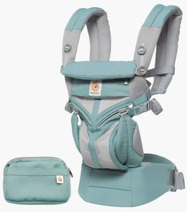 Ergobaby Omni 360 Cool Air Mesh Baby Carrier - Icy Mint