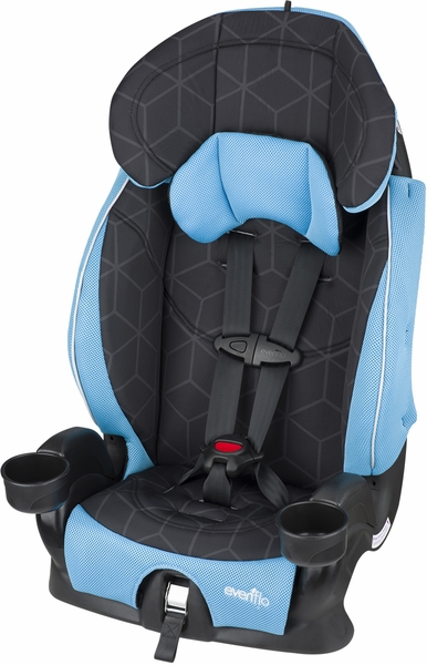 Evenflo Advanced Chase Lx Harness Booster Seat - Glacier Ice