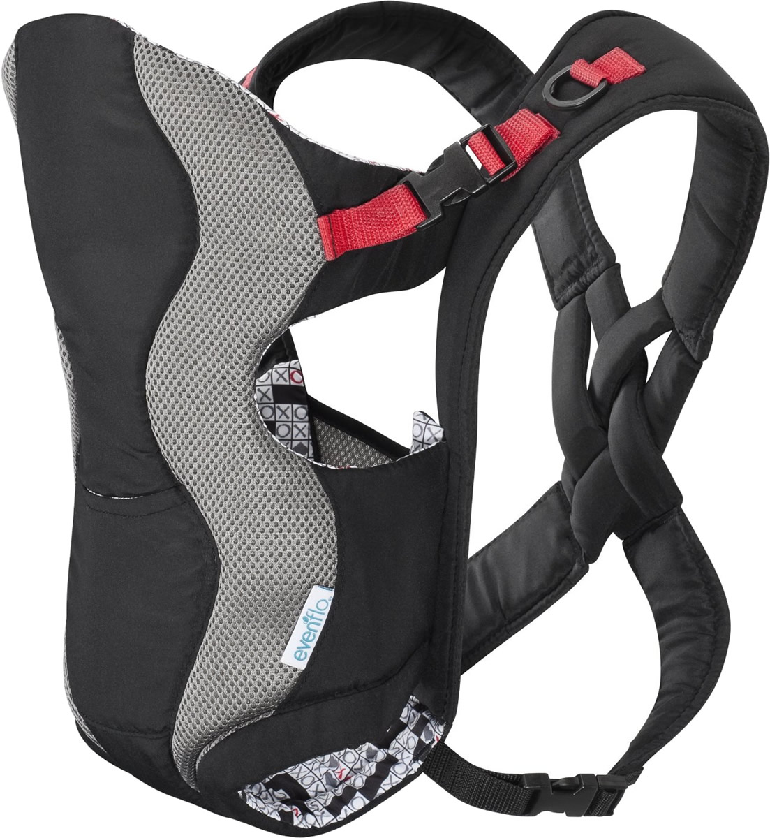 da8ca6b9b26 Evenflo Breathable Carrier - Crossword
