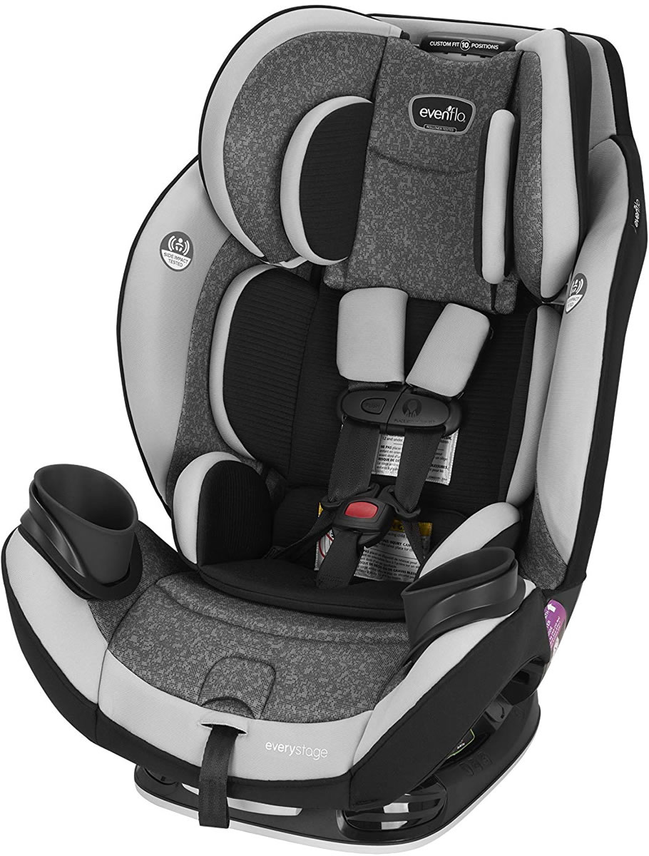 Evenflo Everystage Dlx All In One Convertible Car Seat Latitude