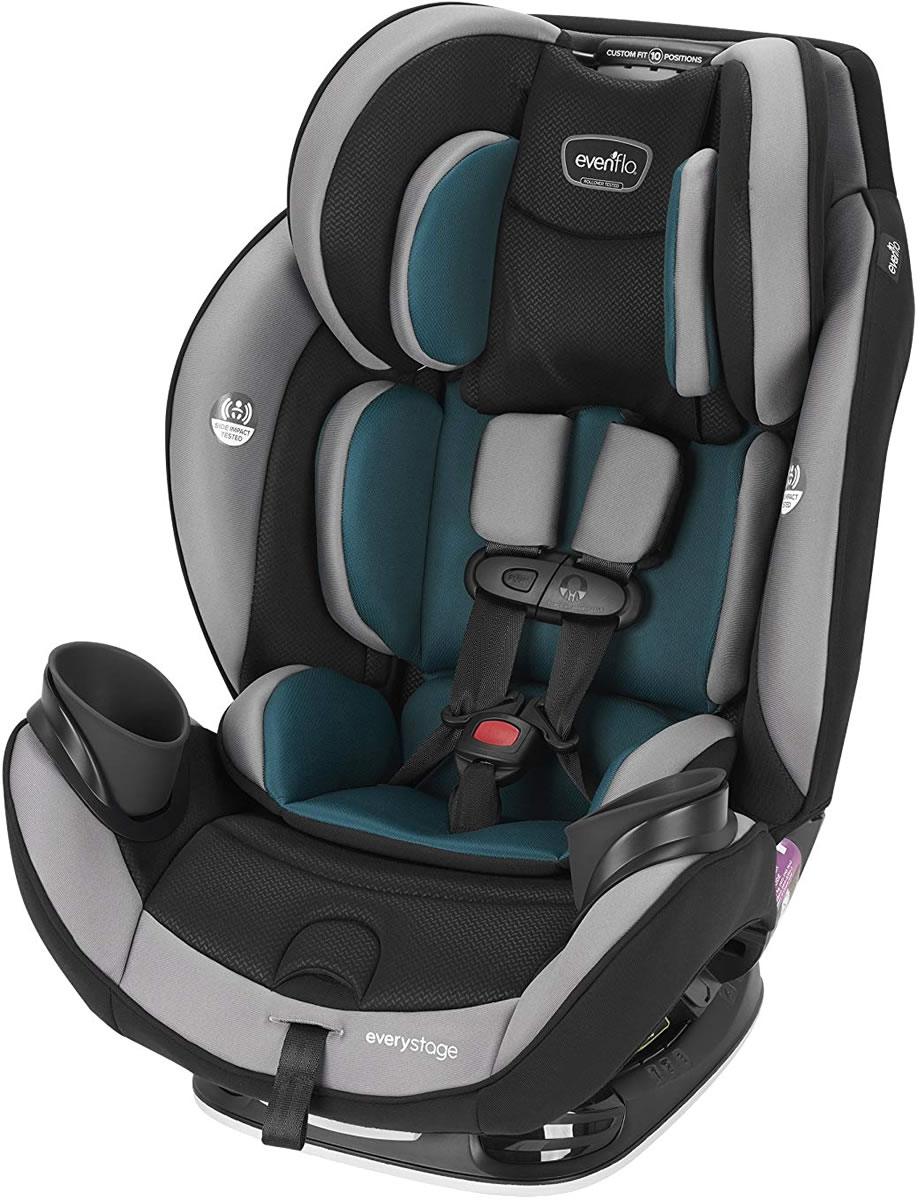 Evenflo EveryStage DLX All-in-One Convertible Car Seat - ...