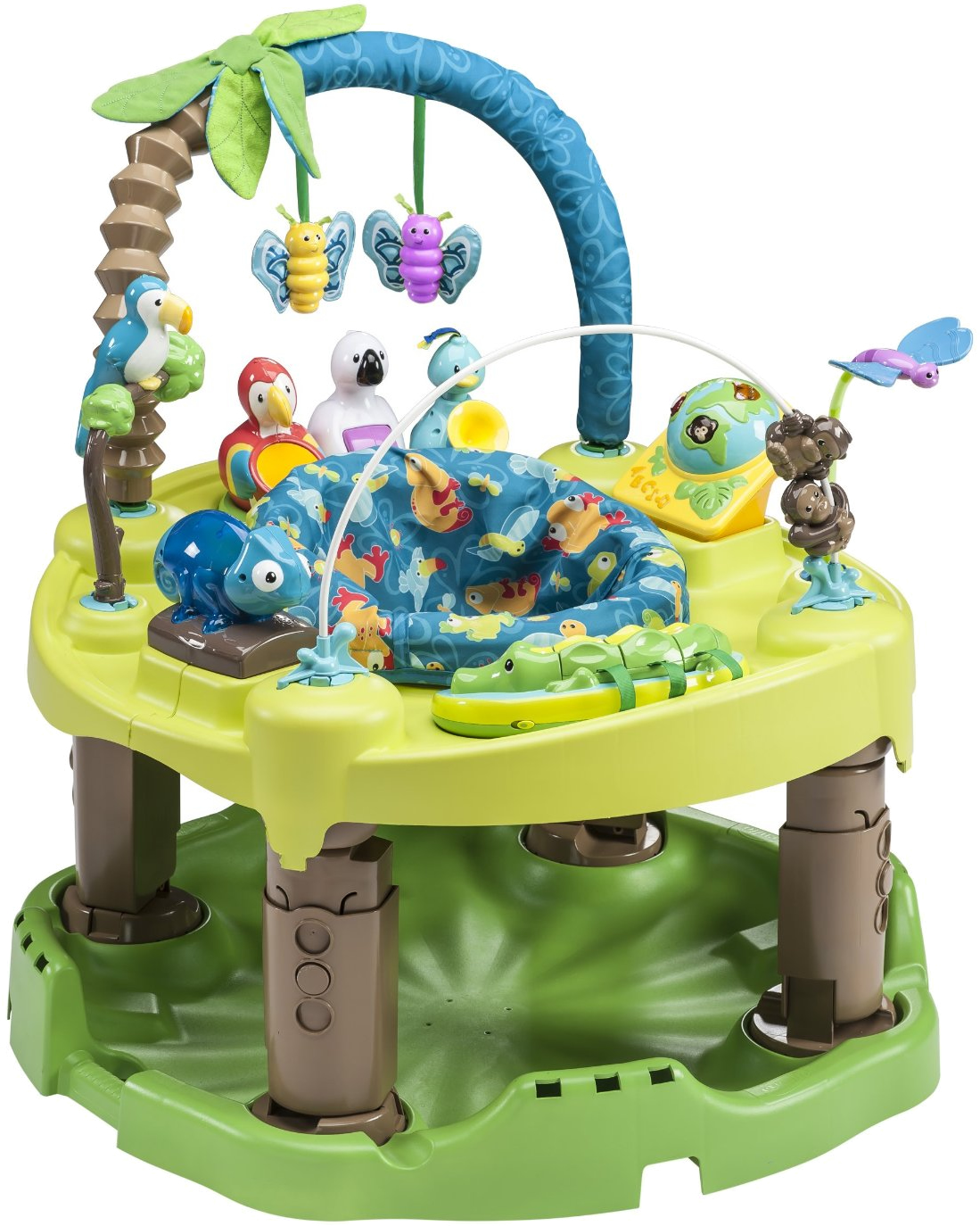 Evenflo Triple Fun Jungle Exersaucer Talking Alligator Toy Replacement Part