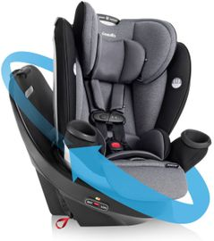 Evenflo GOLD Revolve360 All-In-One Car Seat - Moonstone Gray